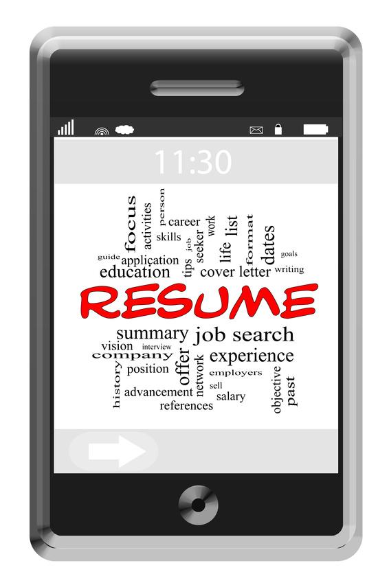 Resume Manager Bewerbung / Lebenslauf auf Englisch